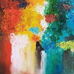 abstract , 16 x 24 inch, asmita chandra,16x24inch,canvas board,paintings,abstract paintings,paintings for dining room,paintings for living room,paintings for bedroom,paintings for office,paintings for hotel,oil color,GAL02372235240