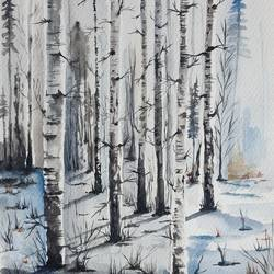 forest , 7 x 10 inch, asmita chandra,7x10inch,fabriano sheet,paintings,landscape paintings,nature paintings | scenery paintings,realistic paintings,paintings for dining room,paintings for living room,paintings for bedroom,paintings for office,paintings for hotel,paintings for dining room,paintings for living room,paintings for bedroom,paintings for office,paintings for hotel,watercolor,GAL02372235242