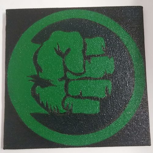 marvel hulk, 5 x 5 inch, somya bhaskar,5x5inch,canvas,paintings,abstract paintings,conceptual paintings,art deco paintings,minimalist paintings,pop art paintings,street art,children paintings,kids paintings,miniature painting.,paintings for dining room,paintings for living room,paintings for bedroom,paintings for office,paintings for bathroom,paintings for kids room,paintings for hotel,paintings for kitchen,paintings for school,paintings for hospital,acrylic color,GAL02029635250