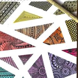 zentangle, 8 x 11 inch, asmita chandra,8x11inch,paper,drawings,modern drawings,paintings for dining room,paintings for living room,paintings for bedroom,paintings for office,paintings for hotel,paintings for school,paintings for hospital,ink color,watercolor,GAL02372235256