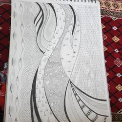 sketching tiles, 12 x 17 inch, divyesh rangani,12x17inch,thick paper,drawings,figurative drawings,paintings for dining room,paintings for living room,paintings for bedroom,paintings for office,paintings for bathroom,paintings for kids room,paintings for hotel,paintings for kitchen,paintings for school,paintings for hospital,pencil color,GAL02379935295