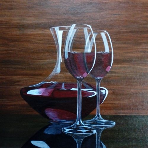red wine, 15 x 12 inch, anirudha  patil ,15x12inch,canvas board,still life paintings,photorealism,realism paintings,paintings for dining room,paintings for living room,paintings for bedroom,paintings for office,paintings for hotel,paintings for kitchen,paintings for dining room,paintings for living room,paintings for bedroom,paintings for office,paintings for hotel,paintings for kitchen,acrylic color,GAL02386535345