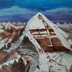 mount kailash , 15 x 12 inch, anirudha  patil ,15x12inch,canvas board,paintings,landscape paintings,nature paintings | scenery paintings,lord shiva paintings,paintings for dining room,paintings for living room,paintings for bedroom,paintings for office,paintings for hotel,acrylic color,GAL02386535346