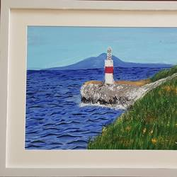 light house, 14 x 18 inch, aslam shareef,14x18inch,canvas,paintings,landscape paintings,paintings for dining room,paintings for living room,paintings for office,paintings for school,paintings for hospital,acrylic color,GAL02378835399