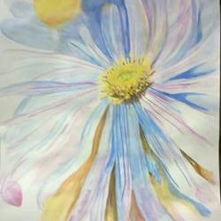 delicay, 12 x 17 inch, parul srivastava,flower paintings,paintings for office,paintings for living room,thick paper,watercolor,12x17inch,GAL012893542