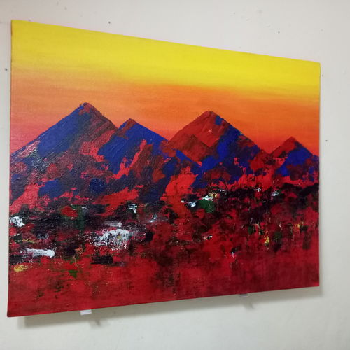abstract art, 16 x 20 inch, sheeba thomas,16x20inch,canvas,abstract paintings,landscape paintings,nature paintings | scenery paintings,abstract expressionism paintings,expressionism paintings,contemporary paintings,paintings for dining room,paintings for living room,paintings for bedroom,paintings for office,paintings for hotel,paintings for dining room,paintings for living room,paintings for bedroom,paintings for office,paintings for hotel,acrylic color,GAL02393835426