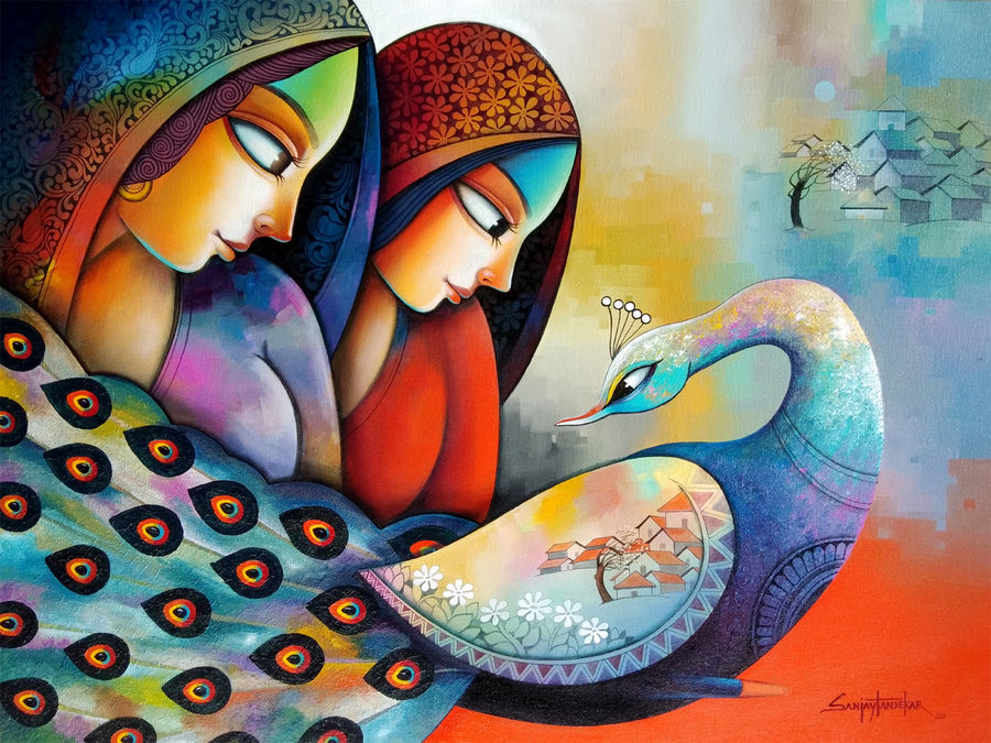 affection 21, 40 x 30 inch, sanjay  tandekar ,40x30inch,canvas,paintings,contemporary paintings,love paintings,paintings for dining room,paintings for living room,paintings for bedroom,paintings for office,paintings for hotel,paintings for hospital,paintings for dining room,paintings for living room,paintings for bedroom,paintings for office,paintings for hotel,paintings for hospital,acrylic color,GAL0281035428