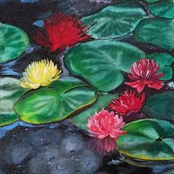 lotus, 11 x 14 inch, vindhya acharya,11x14inch,canvas,paintings,figurative paintings,nature paintings | scenery paintings,art deco paintings,paintings for dining room,paintings for living room,paintings for bedroom,paintings for office,paintings for bathroom,paintings for kids room,paintings for hotel,paintings for kitchen,paintings for school,paintings for hospital,acrylic color,GAL02394635447