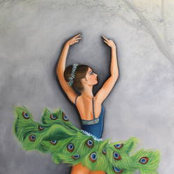 ballet dancer, 24 x 36 inch, goutami mishra,24x36inch,canvas,paintings,figurative paintings,portrait paintings,nature paintings | scenery paintings,impressionist paintings,photorealism paintings,photorealism,portraiture,realism paintings,contemporary paintings,realistic paintings,paintings for living room,paintings for bedroom,paintings for hotel,oil color,GAL046535452