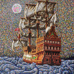 the free ship, 30 x 40 inch, samit kamar,30x40inch,canvas,paintings,abstract paintings,paintings for dining room,paintings for living room,paintings for bedroom,paintings for office,paintings for hotel,paintings for dining room,paintings for living room,paintings for bedroom,paintings for office,paintings for hotel,acrylic color,GAL0443435461