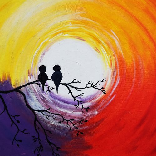 two better than one, 14 x 11 inch, archana singh,love paintings,paintings for bedroom,canvas,oil,14x11inch,GAL011723553heart,family,caring,happiness,forever,happy,trust,passion,romance,sweet,kiss,love,hugs,warm,fun,kisses,joy,friendship,marriage,chocolate,husband,wife,forever,caring,couple,sweetheart