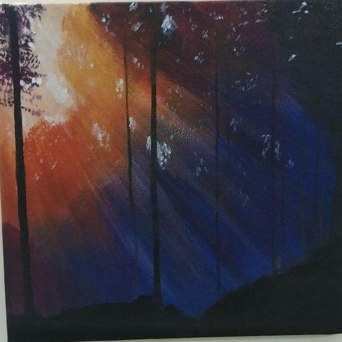 sunlight filtering through the trees, 12 x 12 inch, sumit solanki,12x12inch,canvas,paintings for dining room,paintings for living room,paintings for bedroom,paintings for office,paintings for bathroom,paintings for kids room,paintings for hotel,paintings for kitchen,paintings for school,paintings for hospital,paintings for dining room,paintings for living room,paintings for bedroom,paintings for office,paintings for bathroom,paintings for kids room,paintings for hotel,paintings for kitchen,paintings for school,paintings for hospital,acrylic color,GAL02407635541