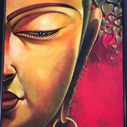 dagar, 40 x 52 inch, ani bhanot,40x52inch,canvas,paintings,buddha paintings,love paintings,paintings for dining room,paintings for living room,paintings for bedroom,paintings for hotel,acrylic color,oil color,GAL02307435573