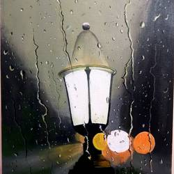 rainy evening, 18 x 22 inch, shankha mitra,18x22inch,canvas,photorealism paintings,realism paintings,paintings for dining room,paintings for living room,paintings for bedroom,paintings for office,paintings for hotel,paintings for dining room,paintings for living room,paintings for bedroom,paintings for office,paintings for hotel,acrylic color,GAL02246935574