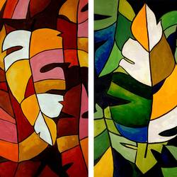 colorful leaves, 28 x 22 inch, revathi  nandana,28x22inch,paper,paintings,abstract paintings,wildlife paintings,flower paintings,modern art paintings,multi piece paintings,conceptual paintings,abstract expressionism paintings,minimalist paintings,paintings for dining room,paintings for living room,paintings for bedroom,paintings for office,paintings for bathroom,paintings for kids room,paintings for hotel,paintings for kitchen,paintings for school,paintings for hospital,acrylic color,GAL02416035586