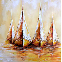 sailing boats, 28 x 19 inch, revathi  nandana,28x19inch,paper,paintings,abstract paintings,landscape paintings,modern art paintings,multi piece paintings,still life paintings,nature paintings | scenery paintings,photorealism paintings,realism paintings,realistic paintings,paintings for dining room,paintings for living room,paintings for bedroom,paintings for office,paintings for bathroom,paintings for kids room,paintings for hotel,paintings for kitchen,paintings for school,paintings for hospital,acrylic color,GAL02416035608