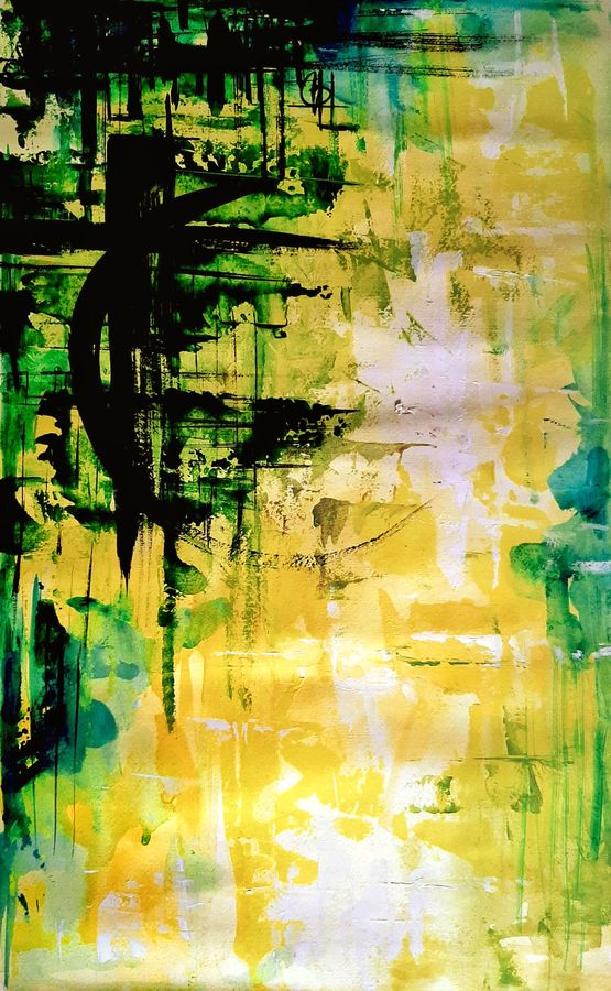 green in the sky, 14 x 22 inch, revathi  nandana,14x22inch,paper,abstract paintings,modern art paintings,conceptual paintings,expressionism paintings,minimalist paintings,contemporary paintings,paintings for dining room,paintings for living room,paintings for bedroom,paintings for office,paintings for bathroom,paintings for kids room,paintings for hotel,paintings for kitchen,paintings for school,paintings for hospital,paintings for dining room,paintings for living room,paintings for bedroom,paintings for office,paintings for bathroom,paintings for kids room,paintings for hotel,paintings for kitchen,paintings for school,paintings for hospital,acrylic color,GAL02416035615