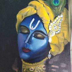 saarthi, 12 x 16 inch, shivani srivastava,12x16inch,canvas,religious paintings,oil color,GAL02413735626