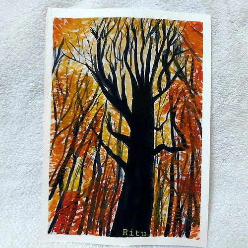 nature painting, 6 x 8 inch, ritu pandey ,6x8inch,canson paper,wildlife paintings,landscape paintings,nature paintings | scenery paintings,art deco paintings,minimalist paintings,photorealism paintings,realistic paintings,paintings for dining room,paintings for bedroom,paintings for office,paintings for kids room,paintings for kitchen,paintings for dining room,paintings for bedroom,paintings for office,paintings for kids room,paintings for kitchen,watercolor,paper,GAL02418135627