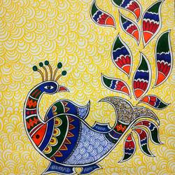 peacock, 18 x 24 inch, sudipta jha,18x24inch,thick paper,drawings,art deco drawings,paintings for dining room,paintings for living room,pen color,GAL02420235661