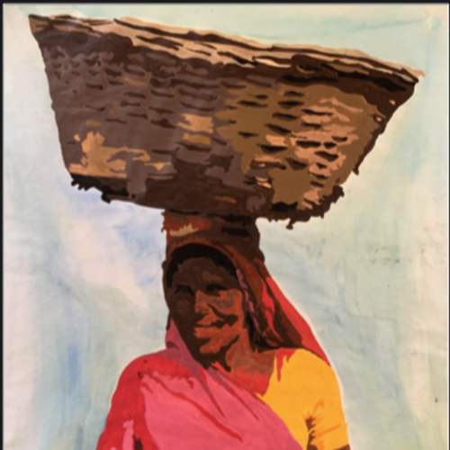 within india , 17 x 23 inch, manav patel,17x23inch,thick paper,paintings,portrait paintings,paintings for dining room,paintings for living room,paintings for bedroom,paintings for hotel,paintings for kitchen,watercolor,GAL02379335699