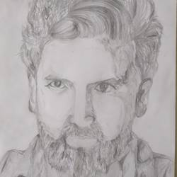 illustration drawings, 12 x 17 inch, aditya  gupta,12x17inch,drawing paper,drawings,portrait drawings,charcoal,graphite pencil,paper,GAL02402235708