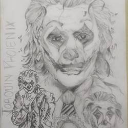 joker-clown joaquin phoenix, 12 x 17 inch, aditya  gupta,12x17inch,drawing paper,illustration drawings,portrait drawings,charcoal,graphite pencil,paper,GAL02402235720