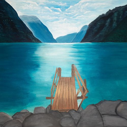 mountains and river, 24 x 20 inch, pooja katharotia,24x20inch,canvas,paintings,landscape paintings,nature paintings | scenery paintings,paintings for dining room,paintings for living room,paintings for bedroom,paintings for office,paintings for kids room,paintings for hotel,paintings for dining room,paintings for living room,paintings for bedroom,paintings for office,paintings for kids room,paintings for hotel,acrylic color,GAL02340535723