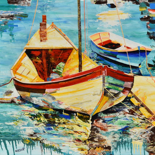 seascape #p1- palette knife oil painting , 24 x 36 inch, rajendra prasad  singh,24x36inch,canvas,paintings,landscape paintings,nature paintings | scenery paintings,impressionist paintings,paintings for dining room,paintings for living room,paintings for bedroom,paintings for office,paintings for hotel,paintings for school,paintings for hospital,acrylic color,GAL02426135762