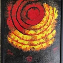 sunset, 15 x 19 inch, vaishali  k,15x19inch,canvas board,paintings,abstract paintings,modern art paintings,nature paintings | scenery paintings,abstract expressionism paintings,minimalist paintings,contemporary paintings,paintings for dining room,paintings for living room,paintings for bedroom,paintings for office,paintings for bathroom,paintings for hotel,paintings for kitchen,paintings for school,paintings for hospital,acrylic color,GAL02435735767