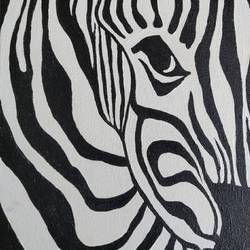 zebra 2, 10 x 12 inch, vaishali  k,10x12inch,canvas board,paintings,abstract paintings,wildlife paintings,modern art paintings,multi piece paintings,animal paintings,contemporary paintings,paintings for dining room,paintings for living room,paintings for bedroom,paintings for office,paintings for bathroom,paintings for kids room,paintings for hotel,paintings for kitchen,paintings for school,paintings for hospital,acrylic color,GAL02435735771