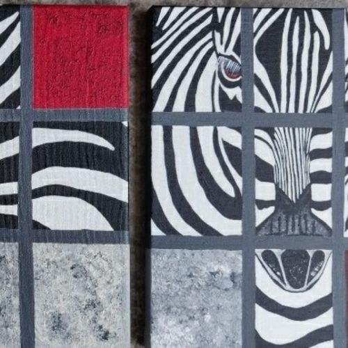 the zebra (set of 3), 10 x 12 inch, vaishali  k,10x12inch,canvas board,paintings,abstract paintings,wildlife paintings,modern art paintings,multi piece paintings,animal paintings,contemporary paintings,paintings for dining room,paintings for living room,paintings for bedroom,paintings for office,paintings for bathroom,paintings for kids room,paintings for hotel,paintings for kitchen,paintings for school,paintings for hospital,acrylic color,GAL02435735772