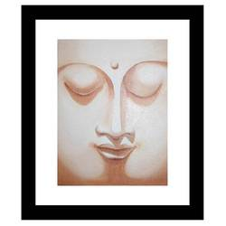 shanti , 12 x 12 inch, amit  jalvi,12x12inch,canvas board,buddha paintings,paintings for living room,paintings for office,paintings for hotel,paintings for living room,paintings for office,paintings for hotel,oil color,GAL02440435806