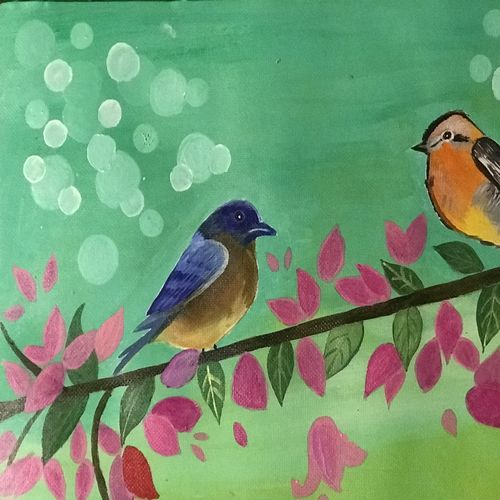 colorful and vibrant, 12 x 15 inch, tanesha gupta,12x15inch,handmade paper,paintings,nature paintings | scenery paintings,paintings for dining room,paintings for living room,paintings for office,paintings for kids room,paintings for hotel,acrylic color,graphite pencil,paper,GAL0355335822