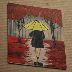 rainy forest, 8 x 10 inch, qayanat haque,8x10inch,canvas board,paintings,figurative paintings,landscape paintings,nature paintings | scenery paintings,street art,paintings for bedroom,paintings for office,paintings for hotel,acrylic color,GAL02443535839