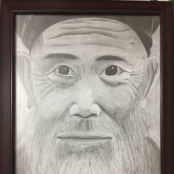 old man, 12 x 17 inch, divjot  singh,12x17inch,ivory sheet,drawings,fine art drawings,portrait drawings,realism drawings,paintings for living room,paintings for hotel,graphite pencil,GAL02445335851