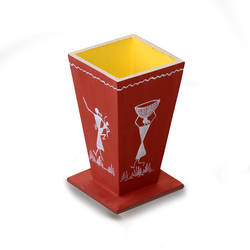 pen stand, 3 x 5 inch, sanjay vayeda,3x5inch,wood board,wooden toys,acrylic color,wood,GAL02447635875