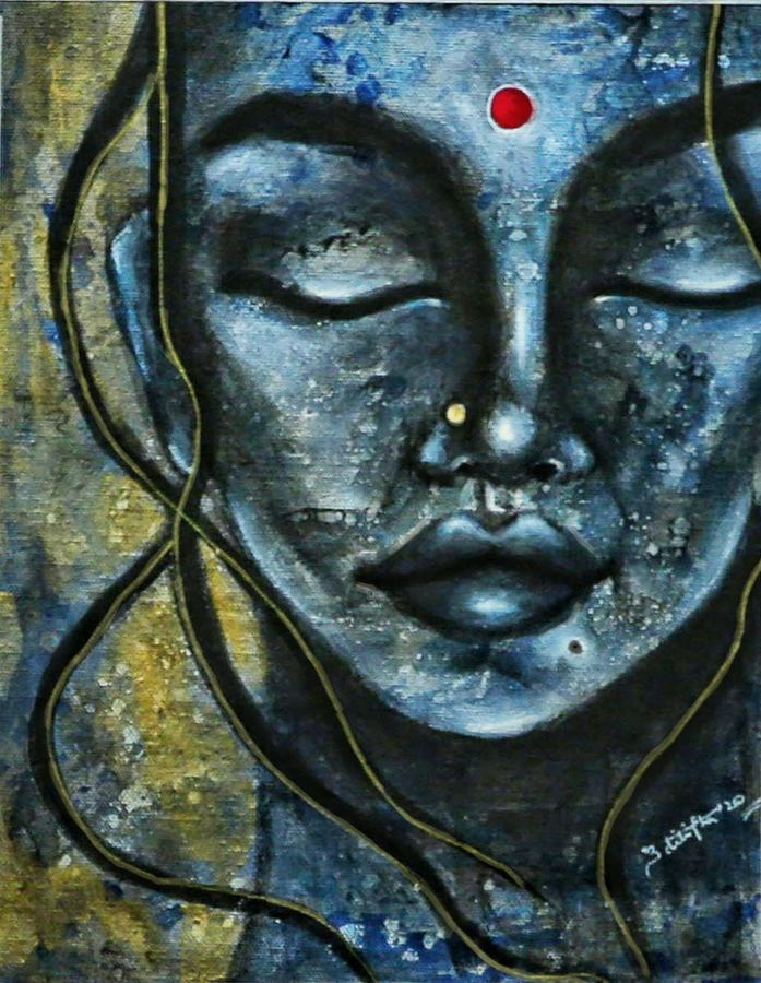 within, 9 x 12 inch, aditi jha,9x12inch,canvas,abstract paintings,figurative paintings,portrait paintings,abstract expressionism paintings,contemporary paintings,paintings for dining room,paintings for living room,paintings for bedroom,paintings for office,paintings for hotel,paintings for dining room,paintings for living room,paintings for bedroom,paintings for office,paintings for hotel,acrylic color,ink color,pencil color,photo ink,GAL02054535885