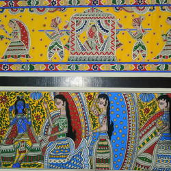 set of 2 madhubani paintings, 30 x 6 inch, kiran bhadauria,30x6inch,ivory sheet,paintings,folk art paintings,madhubani paintings | madhubani art,paintings for living room,paintings for bedroom,paintings for office,paintings for kids room,paintings for hotel,paintings for living room,paintings for bedroom,paintings for office,paintings for kids room,paintings for hotel,natural color,GAL02426235889