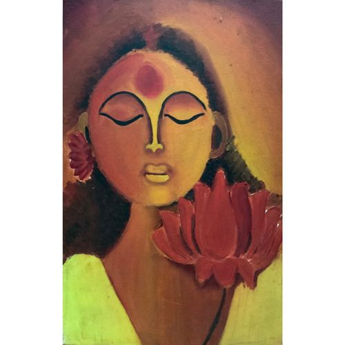 lost thoughts, 12 x 18 inch, sehajpreet kaur chawla,12x18inch,canvas,abstract paintings,portrait paintings,paintings for dining room,paintings for living room,paintings for bedroom,paintings for bathroom,paintings for hotel,paintings for school,paintings for dining room,paintings for living room,paintings for bedroom,paintings for bathroom,paintings for hotel,paintings for school,oil color,GAL02454835910