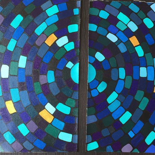 abstract, 32 x 20 inch, prajakta  thomas,abstract paintings,paintings for living room,multi piece paintings,canvas,acrylic color,32x20inch,GAL012103592