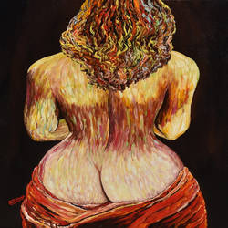 erotic woman #p4, 24 x 36 inch, rajendra prasad  singh,24x36inch,canvas,paintings,figurative paintings,modern art paintings,expressionism paintings,realism paintings,paintings for dining room,paintings for living room,paintings for bedroom,paintings for hotel,acrylic color,GAL02426135982
