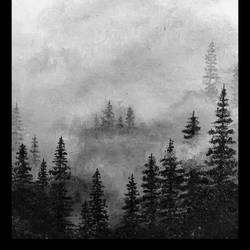 misty forest , 11 x 14 inch, harekrushna panda,11x14inch,canvas,paintings,abstract paintings,landscape paintings,paintings for living room,paintings for office,paintings for hotel,acrylic color,oil color,GAL02464736045