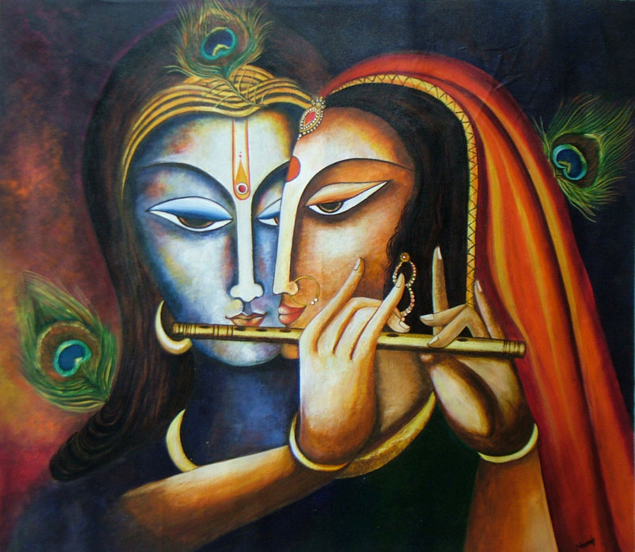 divine love- radha krishna, 28 x 25 inch, neeraj parswal,religious paintings,paintings for living room,radha krishna paintings,love paintings,figurative paintings,canvas,acrylic color,28x25inch,GAL09361heart,family,caring,happiness,forever,happy,trust,passion,romance,sweet,kiss,love,hugs,warm,fun,kisses,joy,friendship,marriage,chocolate,husband,wife,forever,caring,couple,sweetheart