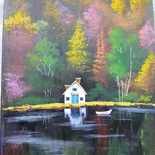 scenery, 3 x 5 inch, ashwini samy,3x5inch,thick paper,paintings,nature paintings | scenery paintings,paintings for dining room,paintings for living room,paintings for bedroom,paintings for office,paintings for kids room,acrylic color,poster color,GAL02473036153