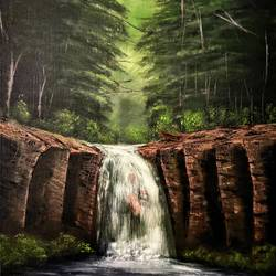 offilia's dream, 16 x 20 inch, jeff bourne,16x20inch,canvas,paintings,landscape paintings,nature paintings   scenery paintings,paintings for dining room,paintings for living room,paintings for bedroom,paintings for office,paintings for hotel,oil color,GAL02367036181