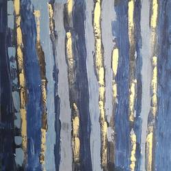 golden bamboo, 30 x 30 inch, paras shah,30x30inch,canvas,paintings,abstract paintings,modern art paintings,paintings for dining room,paintings for living room,paintings for bedroom,paintings for hotel,acrylic color,GAL02436636195