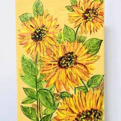 sunflower painting on canvas, 12 x 8 inch, munmun kochar ,12x8inch,canvas,flower paintings,paintings for dining room,paintings for living room,paintings for bedroom,paintings for office,paintings for bathroom,paintings for kids room,paintings for kitchen,paintings for dining room,paintings for living room,paintings for bedroom,paintings for office,paintings for bathroom,paintings for kids room,paintings for kitchen,acrylic color,GAL02470236209