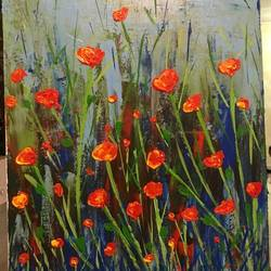 tulips, 16 x 20 inch, janhvi srivastava,16x20inch,canvas,paintings,abstract paintings,flower paintings,landscape paintings,nature paintings | scenery paintings,art deco paintings,paintings for dining room,paintings for living room,paintings for bedroom,paintings for office,paintings for bathroom,paintings for kids room,paintings for hotel,paintings for kitchen,paintings for school,paintings for hospital,acrylic color,GAL02483836315