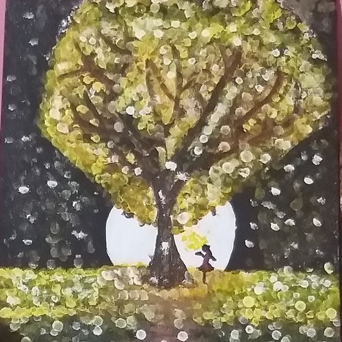 a moon lit dream, 8 x 10 inch, deblina bhattacharjee,8x10inch,canvas,paintings,abstract paintings,landscape paintings,modern art paintings,conceptual paintings,portrait paintings,nature paintings | scenery paintings,paintings for dining room,paintings for living room,paintings for bedroom,paintings for office,paintings for bathroom,paintings for kids room,paintings for hotel,paintings for kitchen,paintings for school,paintings for hospital,acrylic color,natural color,GAL02492436400